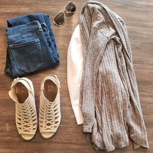American eagle brown sweater